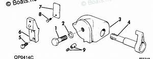 Evinrude Outboard Rigging Parts  U0026 Controls By Year 1980