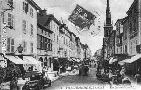 bureau de poste villefranche sur saone cartes postales anciennes de villefranche sur saône 69400