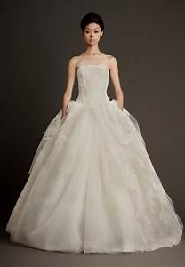 vera wang strapless princess wedding dresses naf dresses With vera wang princess wedding dress