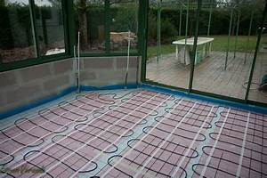 Comment Isoler Sol Pour Vérandas : chape sur plancher chauffant rayonnant ma onnerie ~ Premium-room.com Idées de Décoration