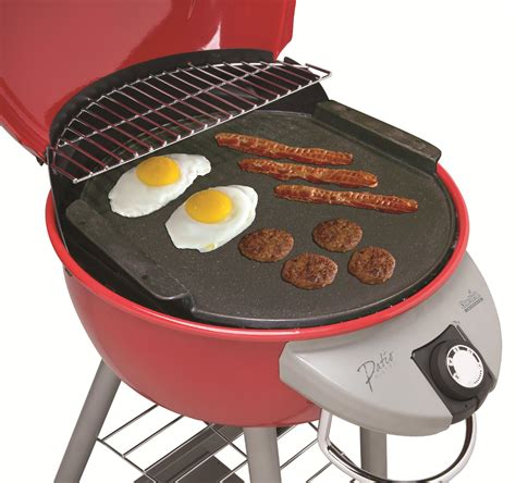 Char Broil Patio Bistro Electric Grill by Char Broil Patio Bistro Cast Iron Griddle Outdoor Living