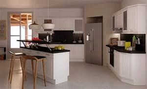 Cuisine americaine sur mesure meubles de cuisines for Meuble de salle a manger avec prix cuisine Équipée sur mesure