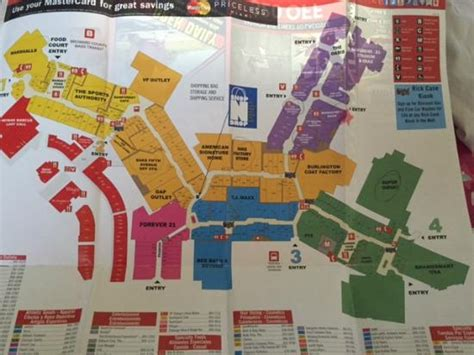 mall map picture  sawgrass mills sunrise tripadvisor