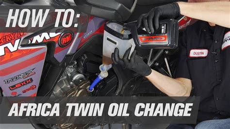 How To Change The Oil On A Honda Africa Twin