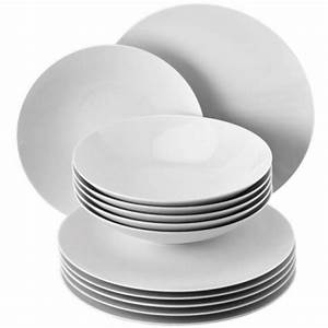 Geschirr Set Weiß Rund : geschirr tafelset tac wei 12 teilig von rosenthal ~ Yasmunasinghe.com Haus und Dekorationen