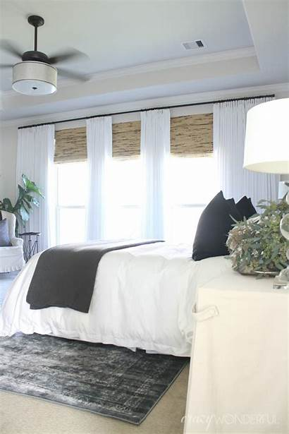 Bedroom Blinds Master Window Shades Treatments Updates