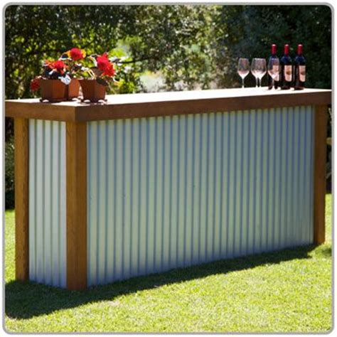 portable patio bar ideas rustic country bar for an outdoor wedding