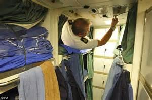 Los Angeles Class Submarine Crew Quarters