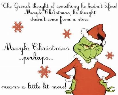 Grinch Christmas Perhaps Maybe Printable Printables Quotes