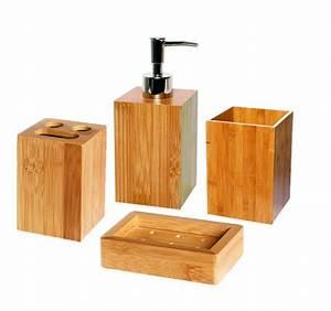 Poubelle Salle De Bain Ikea : finest set accessoires de bain bambou with poubelle salle ~ Dailycaller-alerts.com Idées de Décoration