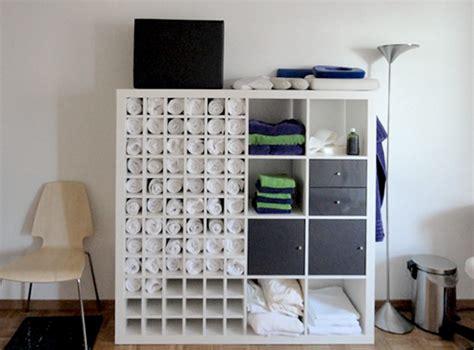 Ein Cooles Handtuch Regal Aus Ikea Expedit Regal