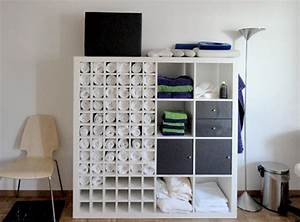 Ikea Regal Einsätze : ein cooles handtuch regal aus ikea expedit regal new swedish design ~ Markanthonyermac.com Haus und Dekorationen