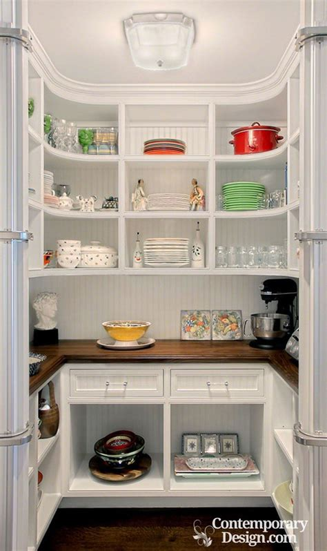 ideas for kitchen pantry small walk in pantry designs