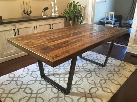 reclaimed wood kitchen dining table reclaimed pallet wood