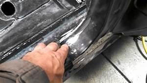 Welding The Rear Quarter Panel 67 Camaro Convertib