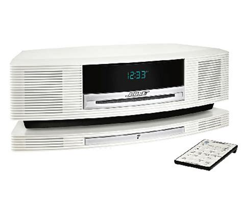 bose wave zubehör bose wave soundtouch system w built in wifi page 1 qvc