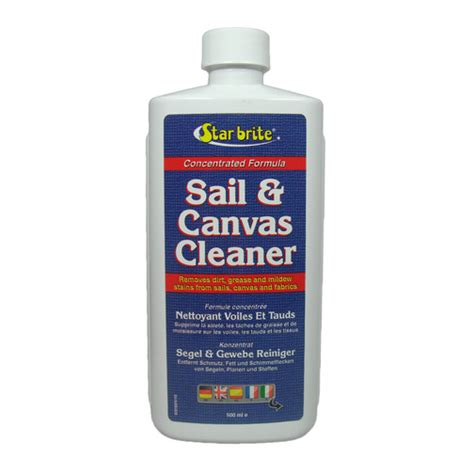 Boat Canvas Window Cleaner by Brite Sail Canvas Cleaner Marine