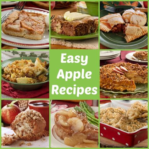 and easy apple recipes 34 easy apple recipes mrfood com