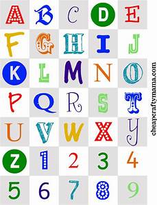 free printable alphabet letters print these cute With customized letters with pictures