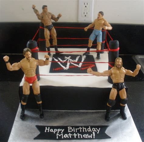 Wwe Cakes De Ion  Ee  Ideas Ee   Little  Ee  Birthday Ee   Cakes