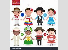 Traditional colombian family clipart Clipground
