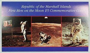Marshall Islands Man On the Moon Coin 1989