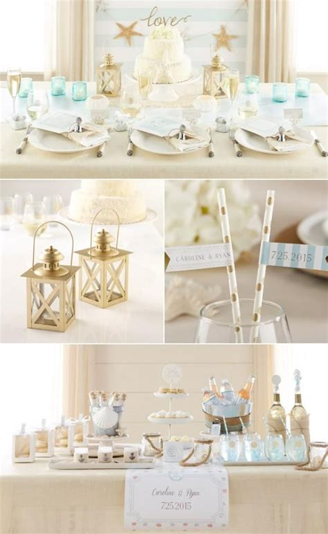 beach theme wedding favors