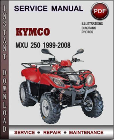 Kymco Mxu Factory Service Repair Manual