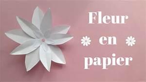 Fleur De Papier : diy fleur en papier facile youtube ~ Farleysfitness.com Idées de Décoration