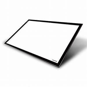 Tablette Lumineuse Dessin : huion x12 6 led tablette r glable de lumi re a2 ~ Nature-et-papiers.com Idées de Décoration
