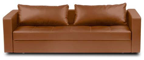 Brown Leather Sleeper Sofa by Eperny Light Brown Faux Leather Sofa Sleeper Modern Sofas