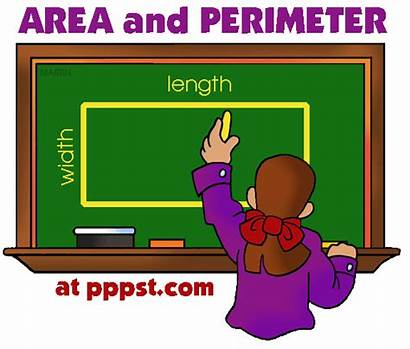 Math Area Perimeter Clipart Games Powerpoint Grade