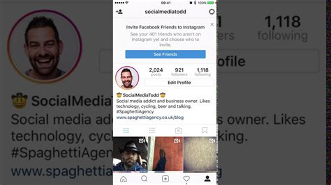 With Instagram - how to link your instagram with your account