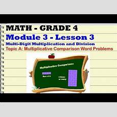 Grade 4 Mod 3 Lesson 3 Youtube