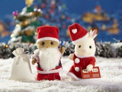 Calico Critters Santa and Mrs. Claus
