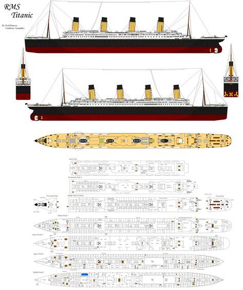 Titanic 2 Deck Plans by Titanic Facts Statistics Ultimate Titanic