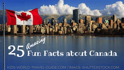 canada facts  interesting  fun facts    kids