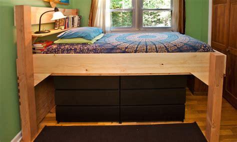 loft bed plans bed plans diy blueprints