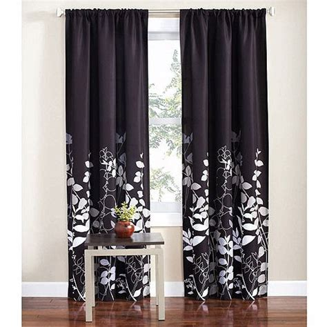 walmart mainstay microfiber curtains mainstays orkaisi curtain this will accent my bedroom