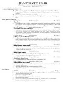 student resume for clinical rotations resume barista resume tips and description exles resume objectives for barista