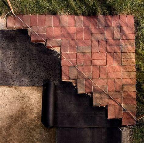25 best ideas about pavers concrete on