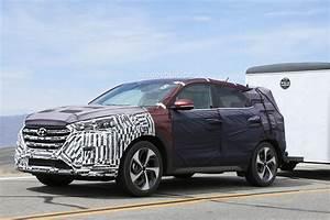 Hyundai Tucson 2016 : all new 2016 hyundai tucson spied with less camouflage in america autoevolution ~ Medecine-chirurgie-esthetiques.com Avis de Voitures