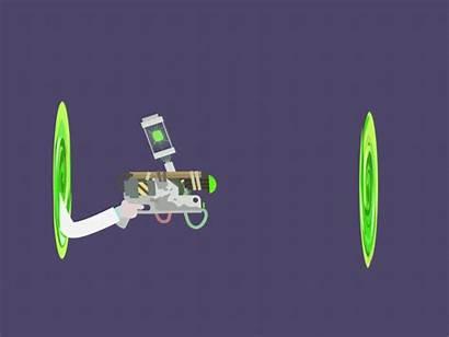 Portal Gun Rick Morty Gifs Bradt Alex