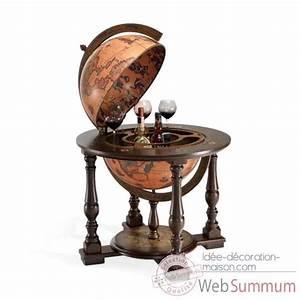 Globe Terrestre Sur Pied : bar mappemondes sur pied zoffoli dans globe terrestre ancien de d coration marine ~ Teatrodelosmanantiales.com Idées de Décoration
