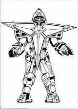 Robot Coloring Printable Boys Rangers Dibujos Robots 1nza Technology sketch template