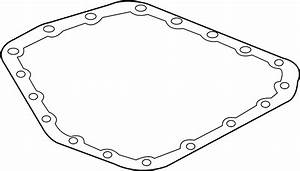 Chevrolet Aveo Automatic Transmission Oil Pan Gasket  Auto
