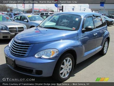 2007 Chrysler Pt Cruiser Touring by Marine Blue Pearl 2007 Chrysler Pt Cruiser Touring