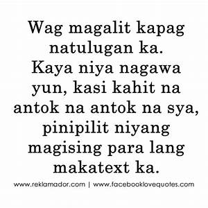 Sweet Quotes Tagalog Love Quotes. QuotesGram