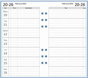 Philofaxy: Free Personal size 2012 diary sets to download