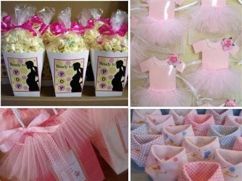 diy baby shower favors ideas  girls youtube
